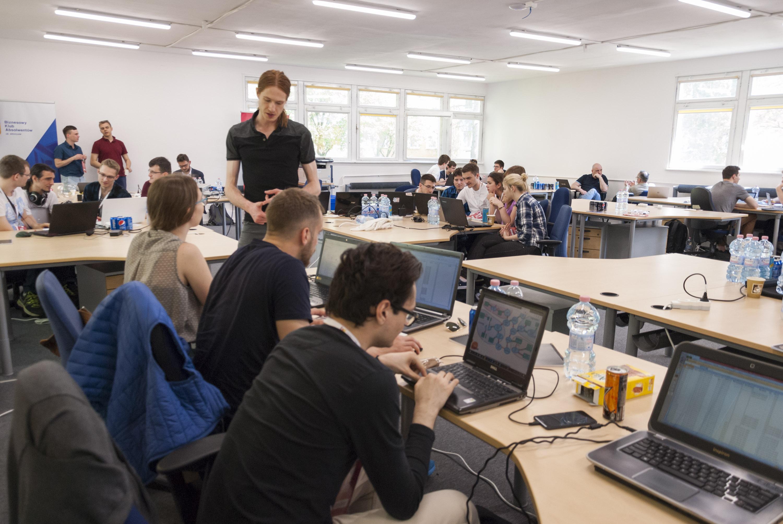 Dataton na coworkingu Rebel Campus